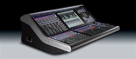 Mixer National Harga 130 000 mixer audio digital solid state logic live paket sound