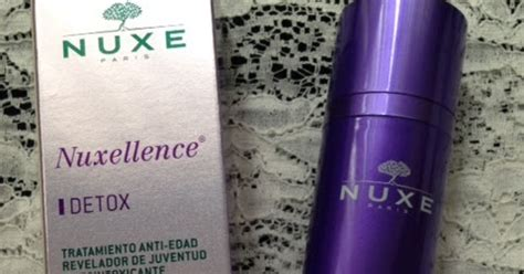 How To Use Nuxellence Detox by Review Serum Nocturno Nuxellence Detox Nuxe Las Cosinas