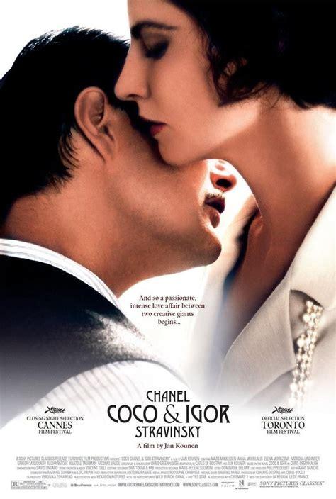 film coco und igor coco chanel igor stravinsky dvd release date september