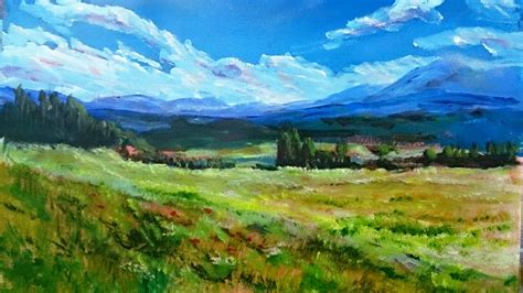 acrylic painting landscape landscapes paintings in acrylic www pixshark