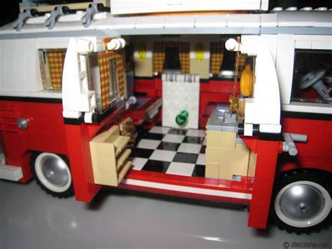 lego volkswagen inside review of 10220 lego volkswagon t1 cer