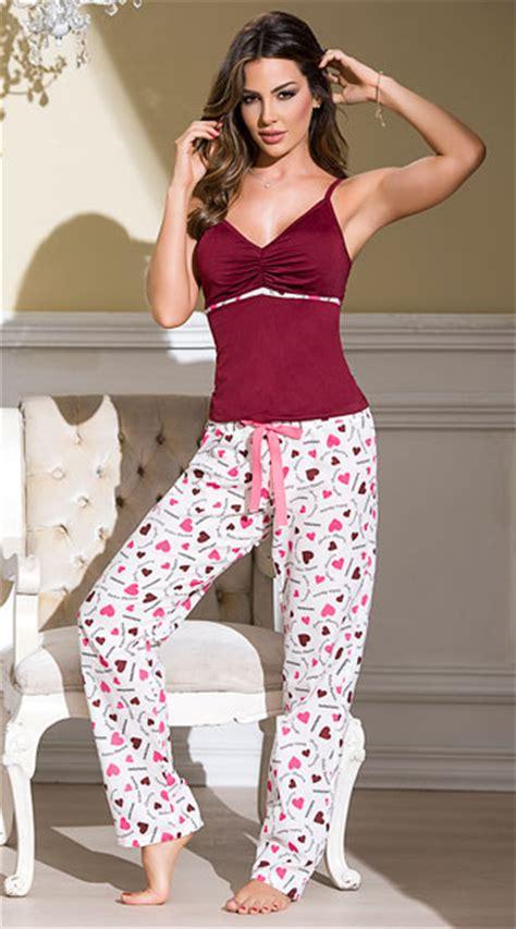 burgundy heart printed pajama set pink pajama set burgundy  white pajama set