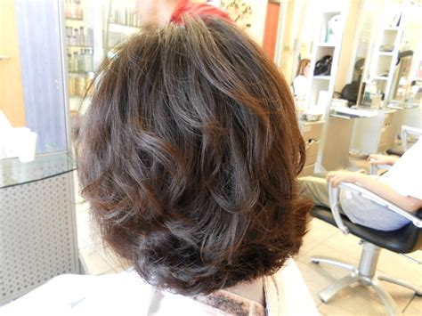before and after of perms on thin hair perms for short hair before and after hairstylelist info
