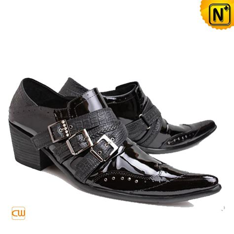 dress shoes black designer black leather dress shoes for cw760001 cwmalls