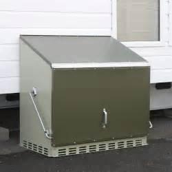 metal garden storage boxes external secure site storage