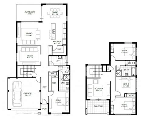 5 bedroom double storey house plans stunning 17 best ideas about 5 bedroom house plans on pinterest country 5 bedroom