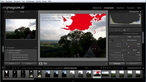 tutorial of lightroom 3 lightroom tutorial deutsch belichtungsanpassung und