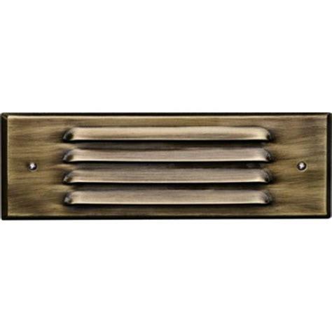 Recessed Step Lights Outdoor Filament Design Ashler 1 Light Antique Brass Outdoor Recessed Step Light Cli Dbm9802 The Home