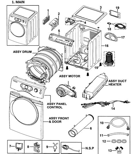 samsung dryer parts model dv338aebxaa0000 sears partsdirect