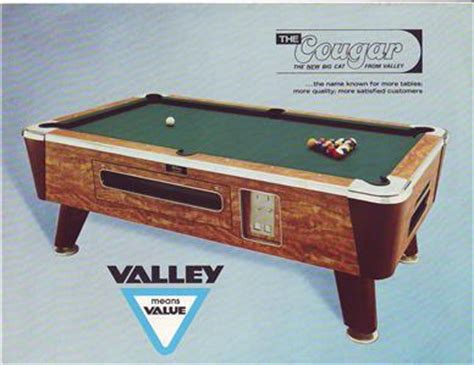 valley pool tables valley the orig pool table sales flyer mint ebay