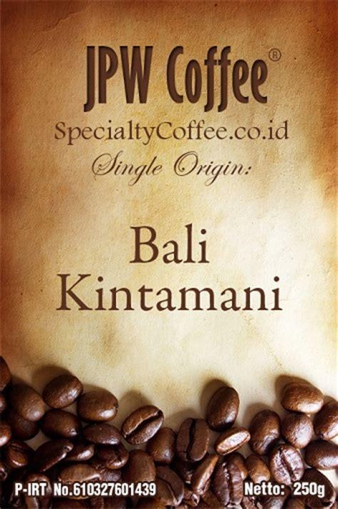 Kopi Espresso Houseblend Bali 1kg kopi bali kintamani specialtycoffee co id