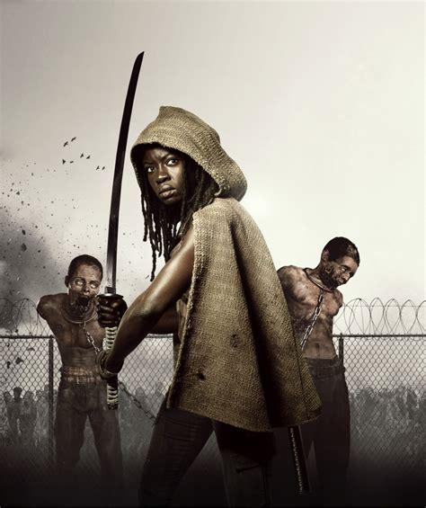 Walking Dead Michonne michonne s 233 rie de tv the walking dead brasil