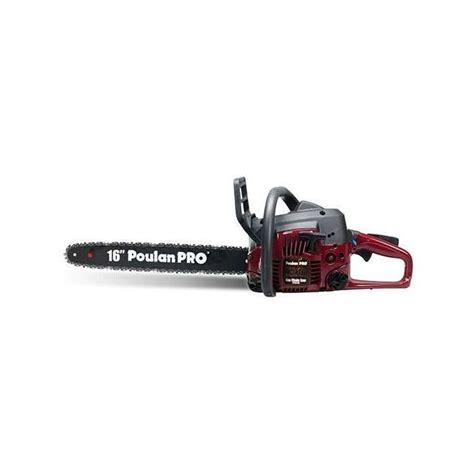 Poulan Pro 16 Inch 34cc Gas Powered Chainsaw Refurbished