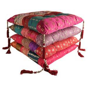 Chair Pads And Cushions Antique Sari Chair Pad Myakka