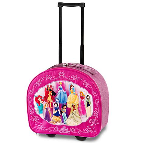 new disney store princess rolling luggage suitcase jasmine