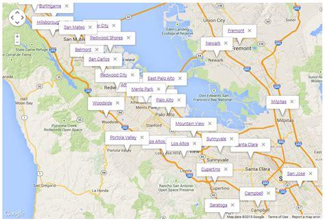 zip code map bay area san francisco bay area zip code map