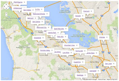 san francisco map with zip codes san francisco bay area zip code map