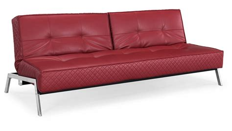 Dino Red Leather Convertible Sofa Bed Sofa Beds Leather Convertible Sofa Bed