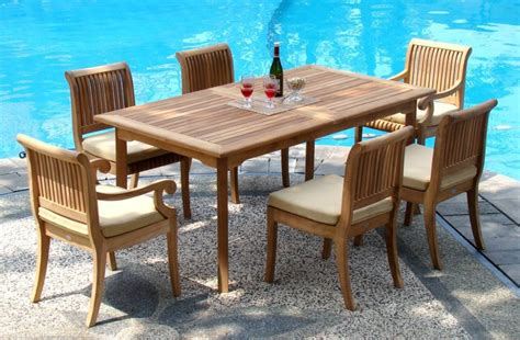 outdoor dining table chairs teak outdoor dining table and chairs teak outdoor dining