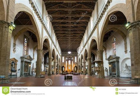 santa croce interno l interno della basilica di santa croce a firenze