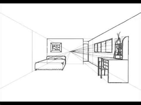 1 point perspective room tutorial how to design one point perspective room tutorial hd