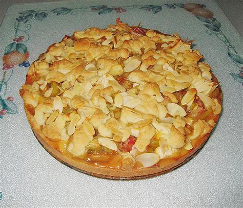 Rhabarber Apfel Kuchen Rezept Mit Bild Batina59
