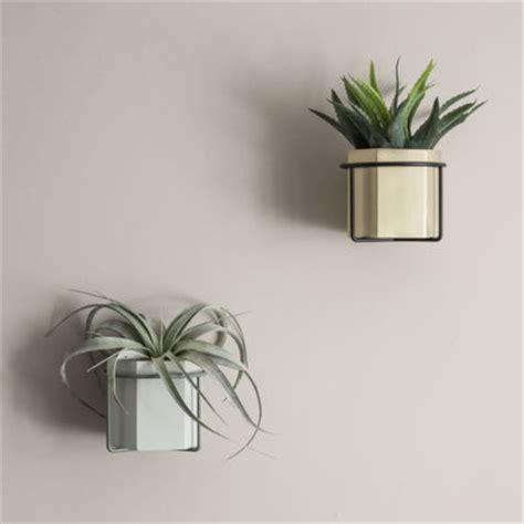 Diy Hanging Plant Pot support mural plant pour pot de fleurs gris ferm living