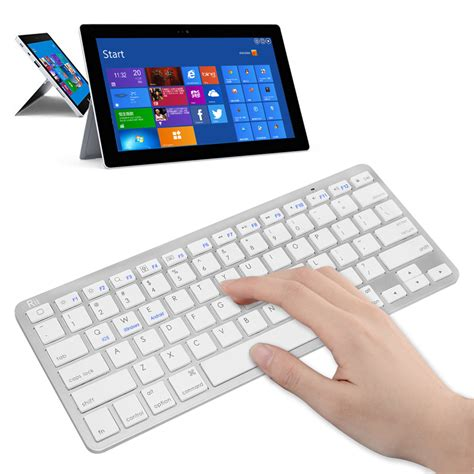 Keyboard Laptop Bluetooth 2015 best bluetooth keyboard rii bt09 ultra slim wireless bluetooth keyboard connection for