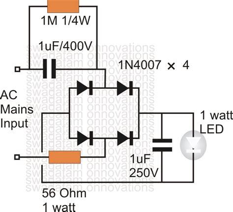 3 5 1w Led Driver 220v L Constant Current Transfor Berkualitas 1 watt led driver circuit at 220v 110v everyday electronics