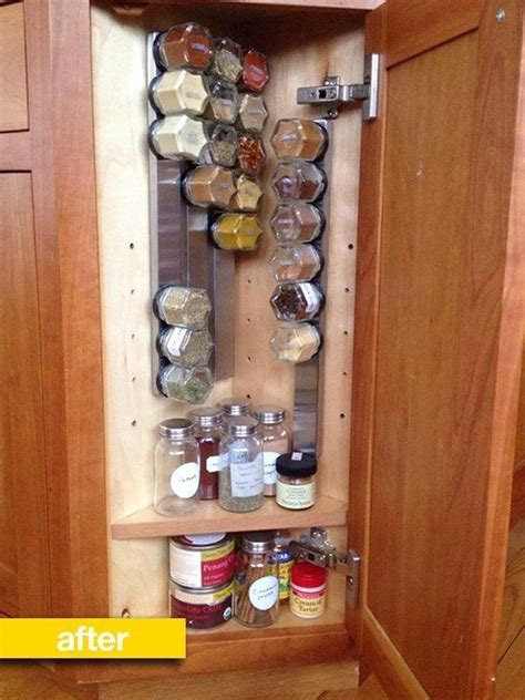 ikea spice rack and mini jars for inside of pantry closet jars corner cabinets and cabinets on pinterest