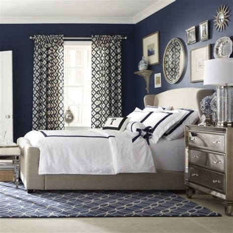 Bedroom Decorating Ideas Navy Blue 25 Best Ideas About Blue White Bedrooms On