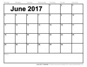 june 2017 calendar monthly calendar printable