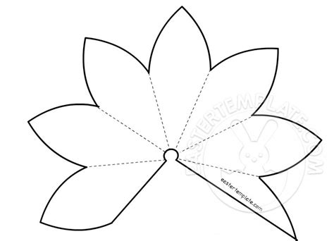 Printable Paper Lily Template | image gallery lily template