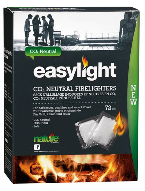easy lights easylight co2 neutral firelighters nature of barbecuing