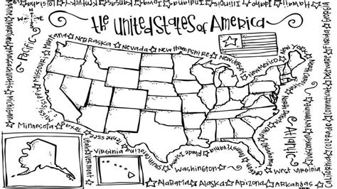 coloring book united states map united states coloring pages map grig3 org