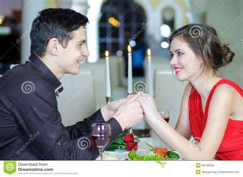 romantic couple drinking wine love valentines day stock photos image 36745043