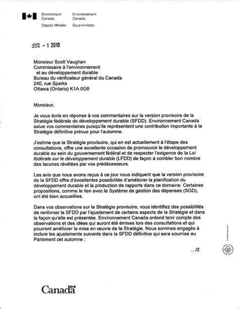 Lettre De Présentation Gouvernement Canada Format Lettre En Anglais
