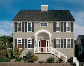 grey exterior house light grey brick house with white