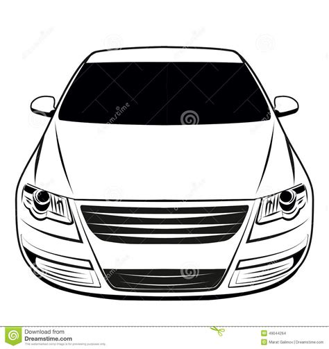 car logo black and white car logo stock illustration image 49044264