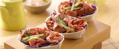 mini taco boats calories teriyaki salmon mini taco boats recipe from betty crocker