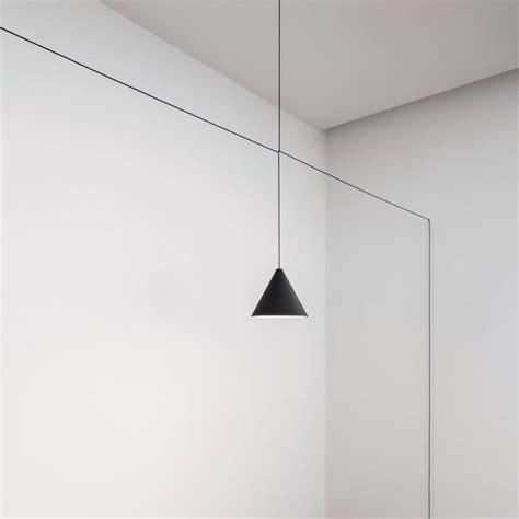 string pendant light flos string light cone pendant light