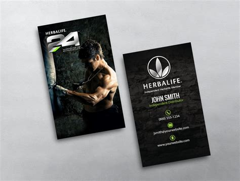 herbalife business card templates herbalife business card 14