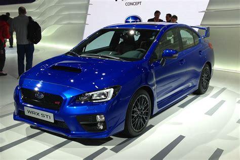 new subaru wrx sti new subaru wrx sti and viziv 2 concept unveiled auto express