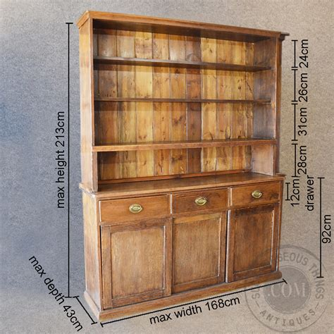 kitchen display cabinet pine dresser welsh country kitchen display cabinet
