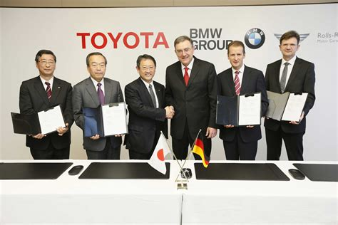 toyota motor group bmw group and toyota motor corporation deepen