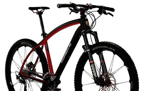 Porsche Bike Rx by Porsche Bicycles With Anti Theft Label The Most