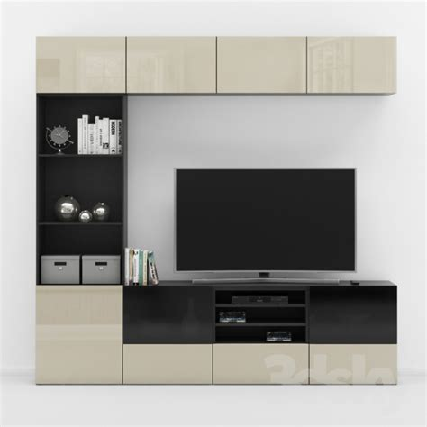 besta tv stand 3d models wardrobe display cabinets ikea besta tv stand