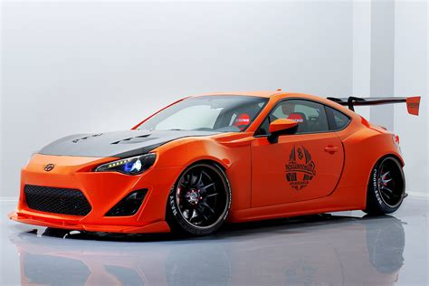 frs scion aimgain bodykits scion frs collaboration aero car such