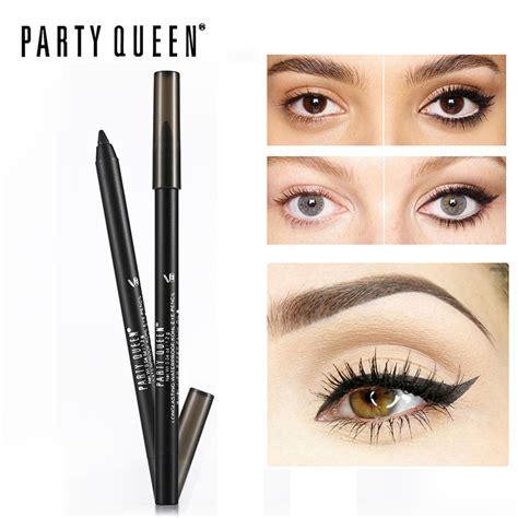 Eye Liner Silky classic eyeliner pencil gel smooth kohl matte black eye pen makeup waterproof