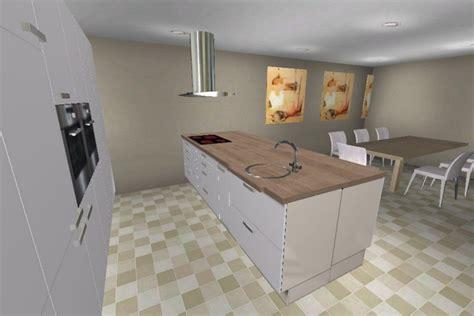 moderne offene küche k 252 che theke wand